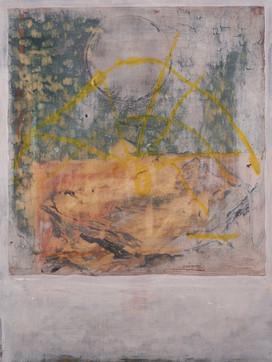 'gate', oil on wood panel, 24x18 cm, 2021