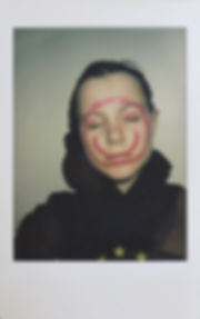 'selfportrait 1', instant photograph, 20