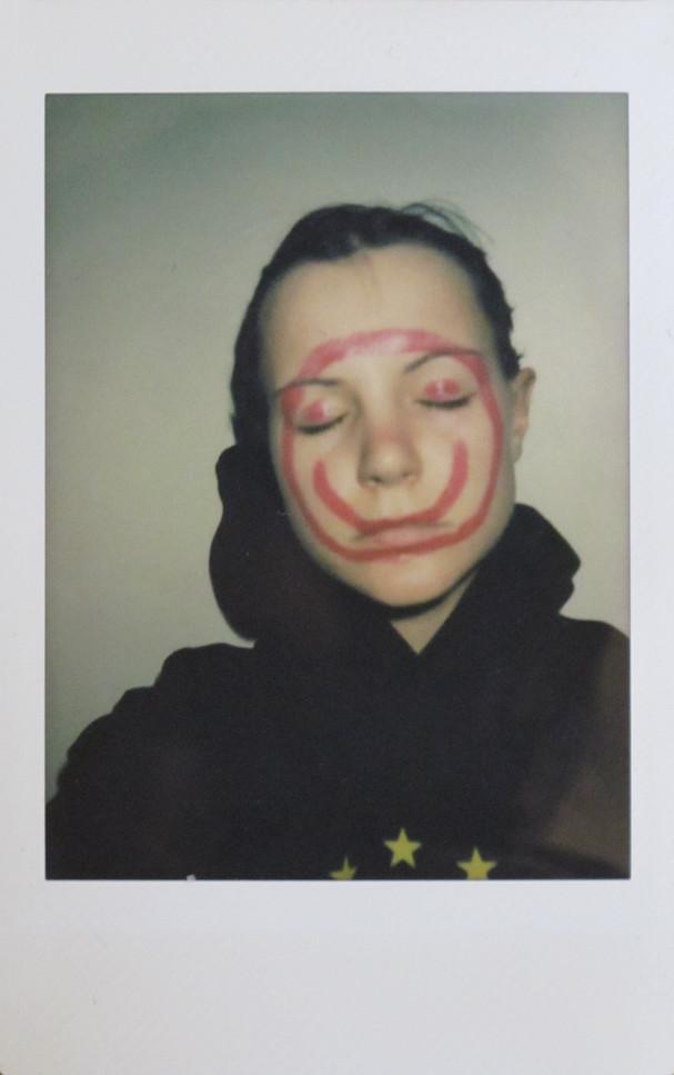 'selfportrait 1', instant photograph, 2019