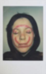 'selfportrait 2', instant photograph, 20