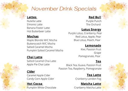 Final Copy Nov Drink Specials to post pn