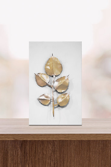 ROSE LEAVES (WHITE, 2020)