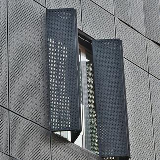 Perforated Metal - Facade Cladding - Pun