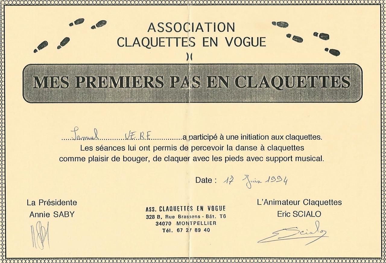 tap diploma 1994