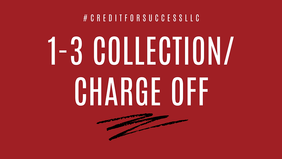 1-3 Collection/ Charge Off