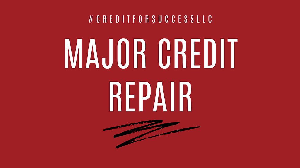 The Works *Major Credit Repair*