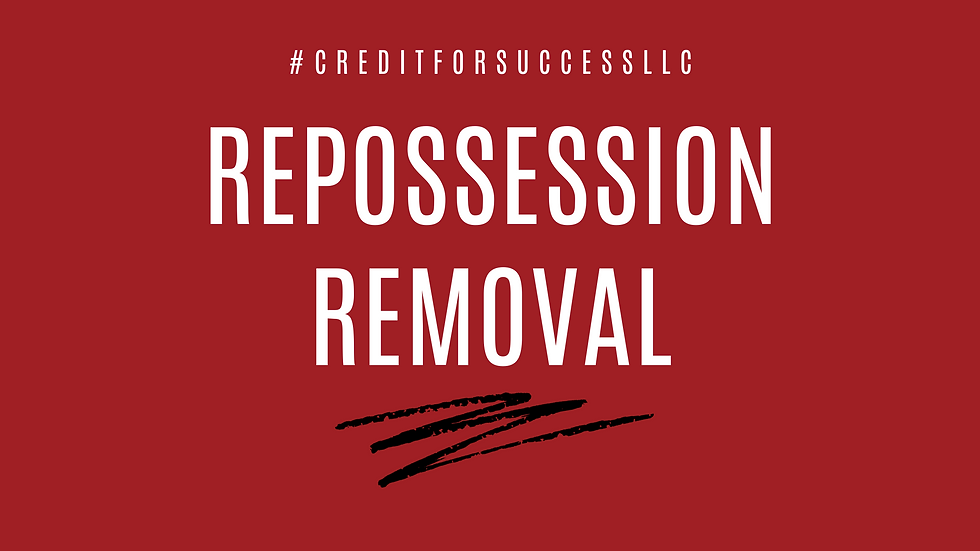Repossession Removal
