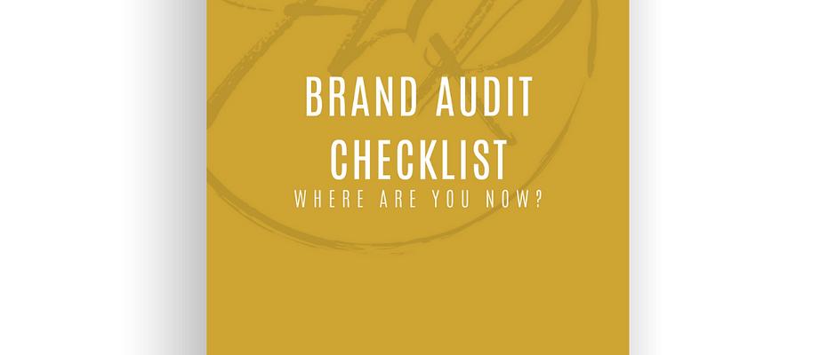 Brand Audit Checklist
