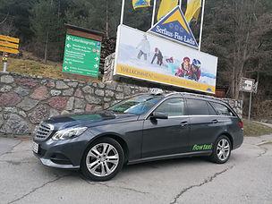 Taxi Landeck nach Serfaus