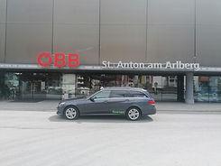 Bahnhof Transfer von St. Anton nach Lech