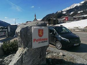 Airport Taxi Transfer von Innsbruck nach Pettneu am Arlberg