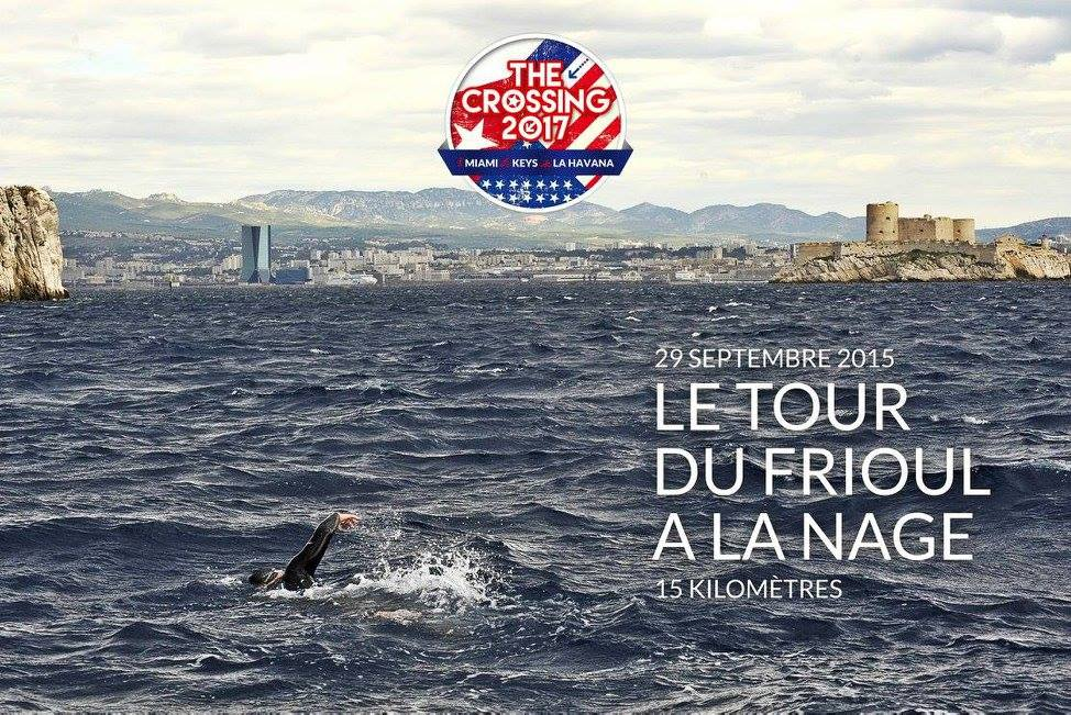 the crossing 2017 preparatory Challenge 1 triathlon in Marseille