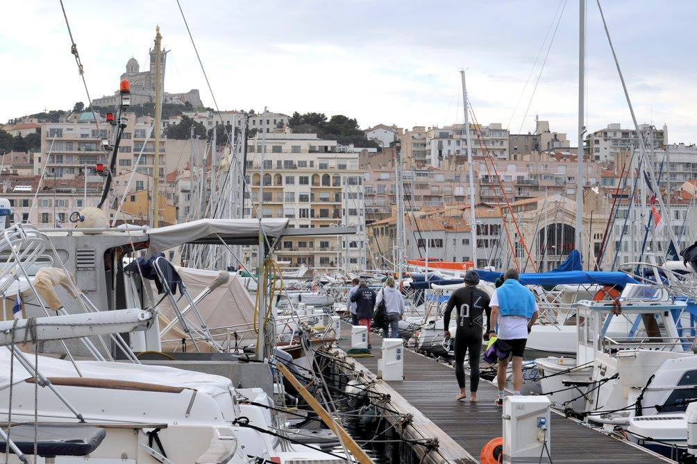 the crossing 2017 preparatory Challenge 1 triathlon in Marseille 3