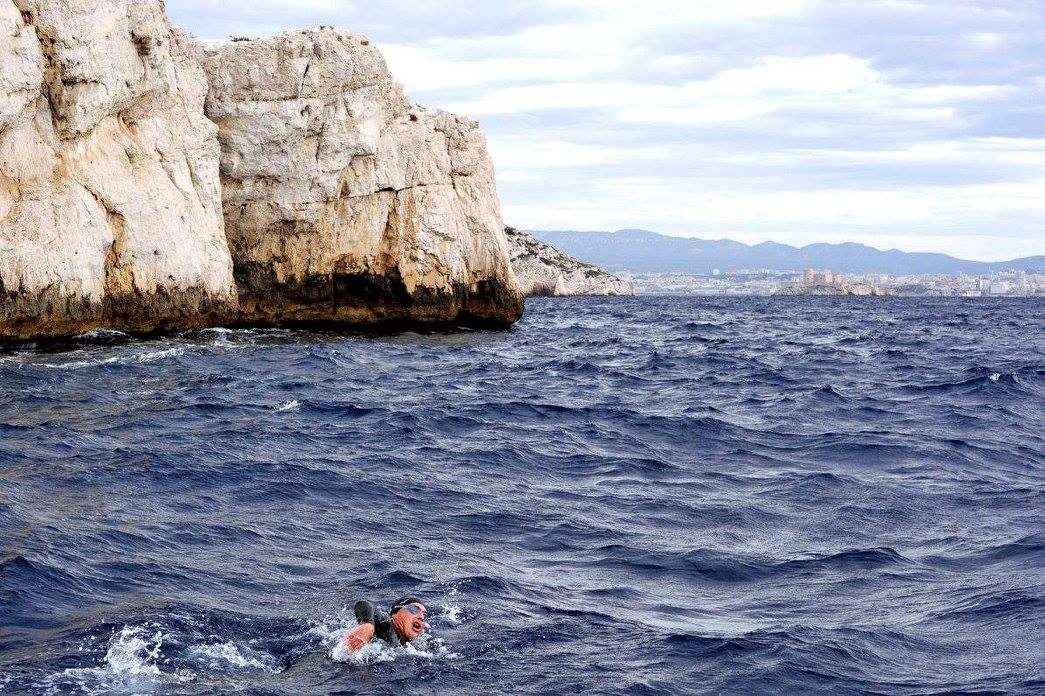the crossing 2017 preparatory Challenge 1 triathlon in Marseille 16