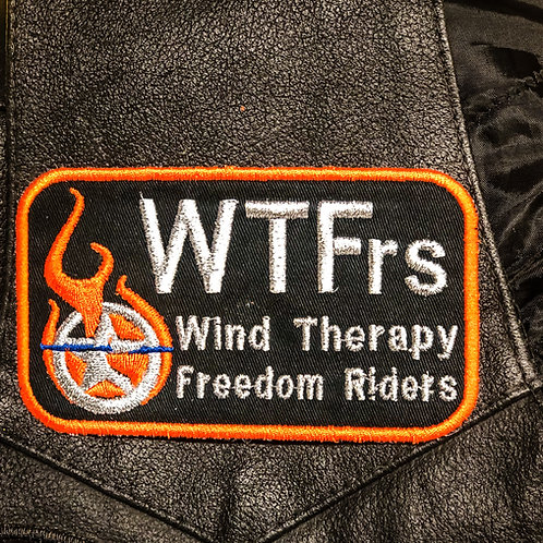 WTFrs Main FRONT Patch