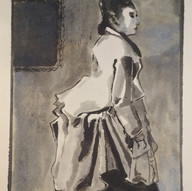 Woman Study (After Degas)