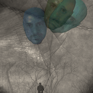 Self-Portrait as Three Balloons, Digital composite, 2014