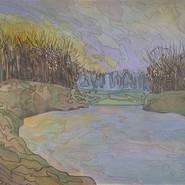 Landscape (River & Sunset