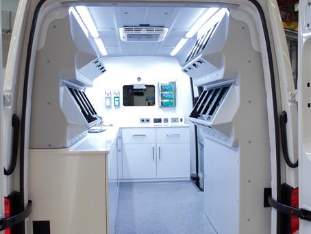 Mobiles Labor ermöglicht PCR-Tests in den entlegensten Winkeln