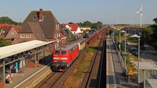 Klanxbüll Bahnhof