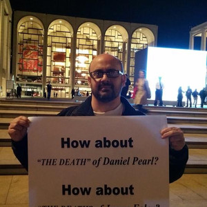 Dahn protesting