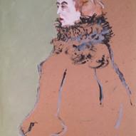 Figure (After Toulouse-Lautrec)