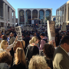 Lincoln Center Protest
