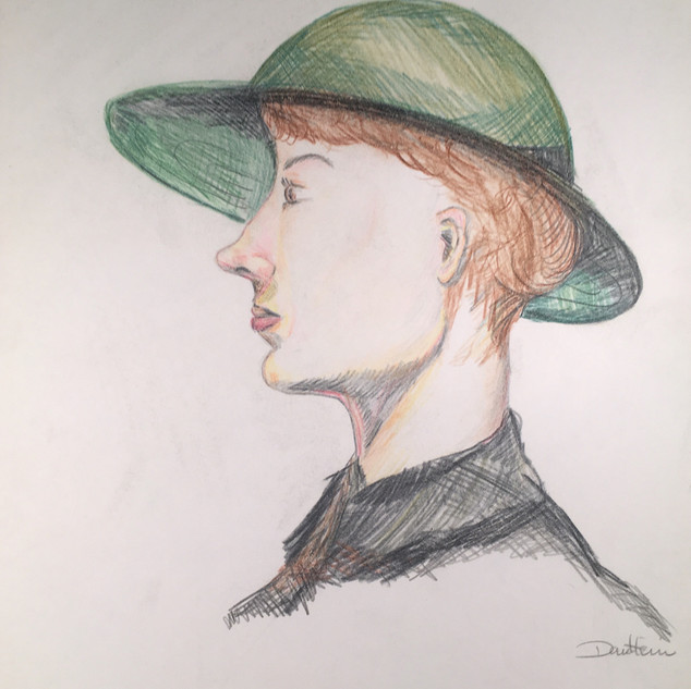 Woman with Hat