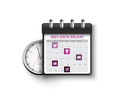 2021 USCIS Receipt Delays