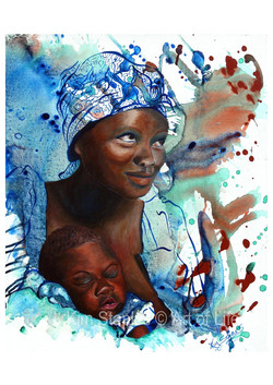 African_Mothers_love
