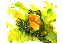 Frog_on_a_log