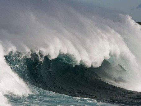 Climate change is making ocean waves more powerful, threatening to erode many coastlines