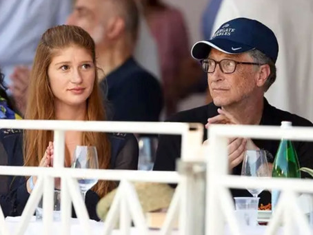 Bill Gates' daughter mocks conspiracy theory after COVID-19 vaccination.