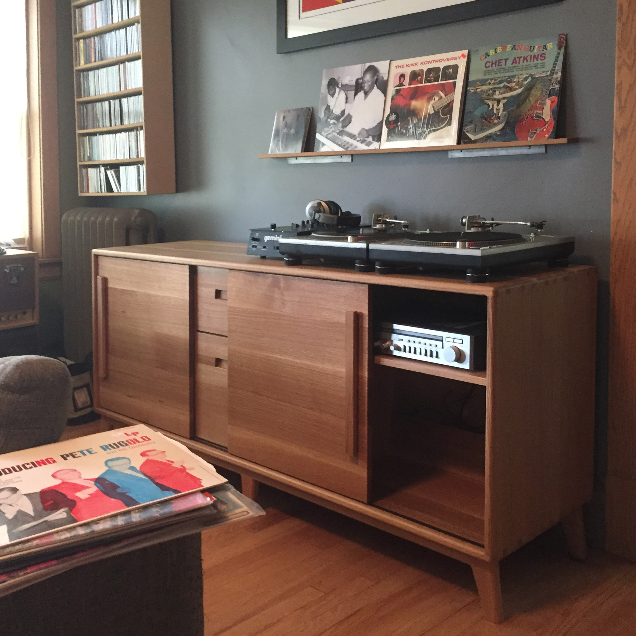 The Armitage audio credenza with drawers