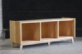 Bukowski Vinyl Record LP Storage Bench