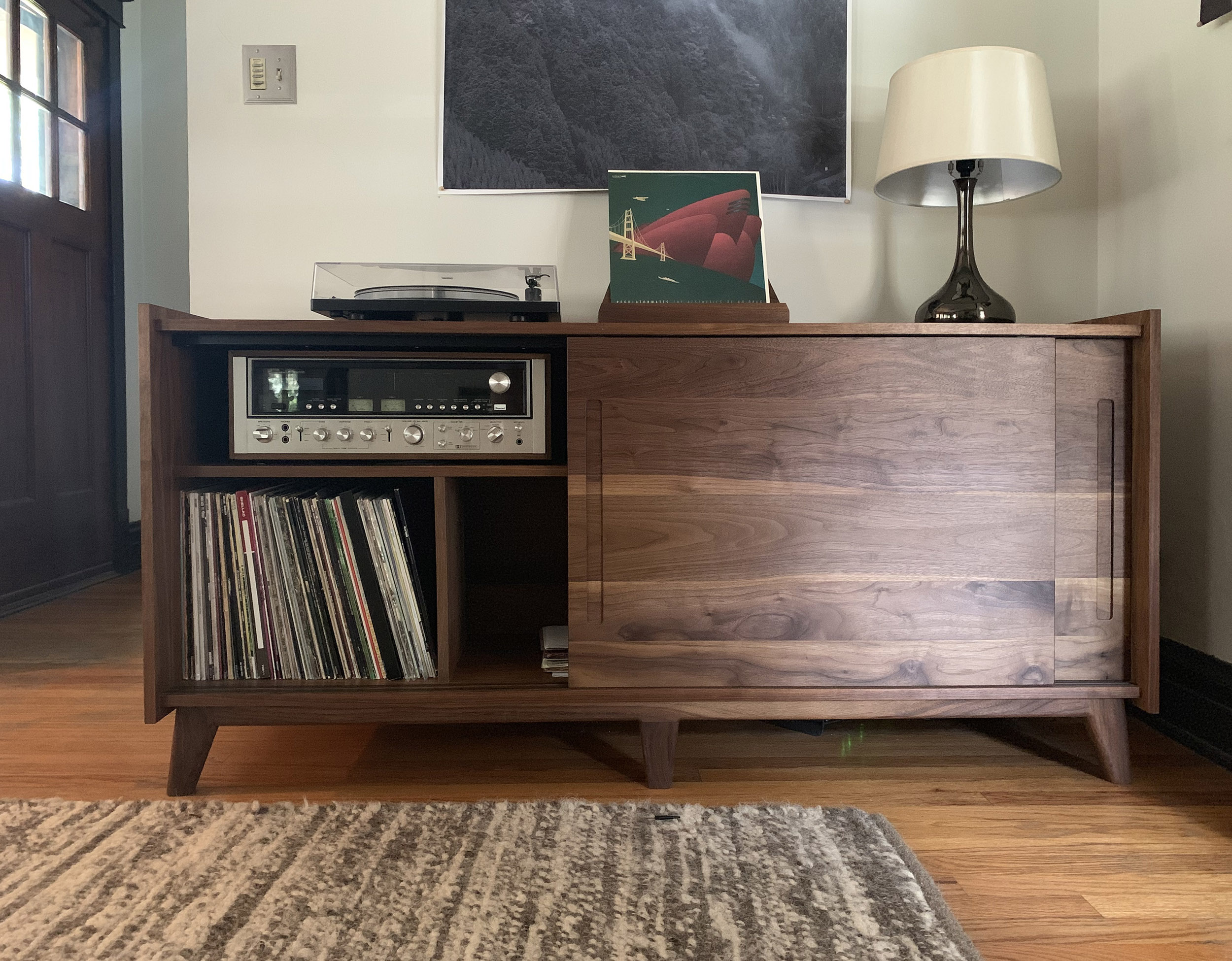 Brokenpress Standard Deluxe Audio Storage Credenza