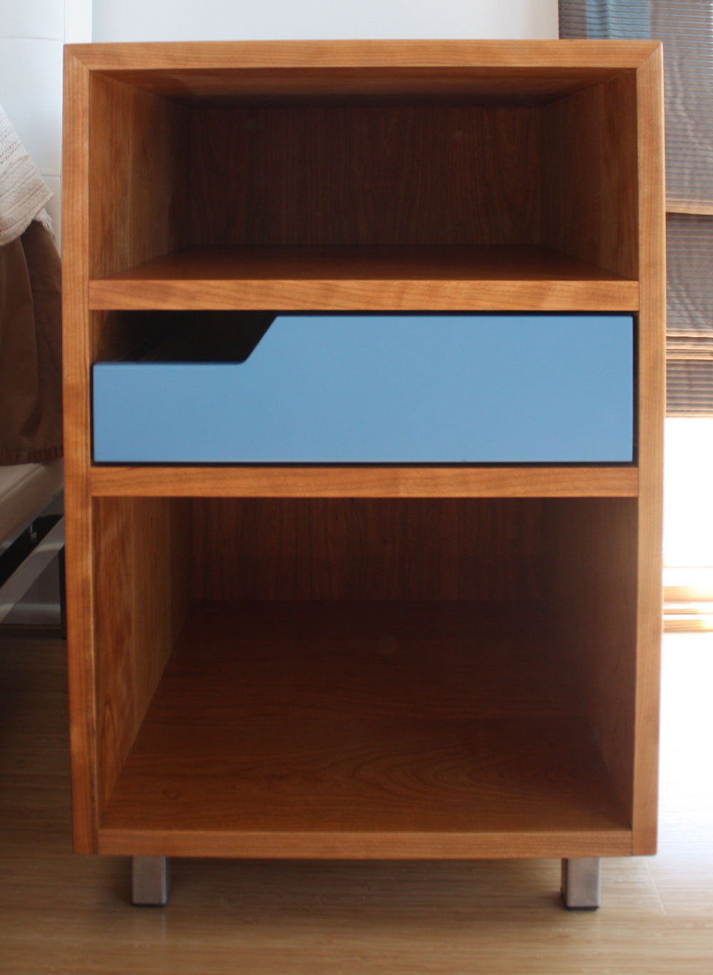 Client designed nightstand