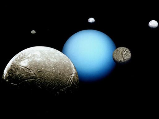 Soupçonnées d'abriter des océans souterrains, les lunes d'Uranus intriguent à leur tour