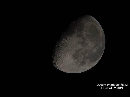 La Lune du 24.02.2019