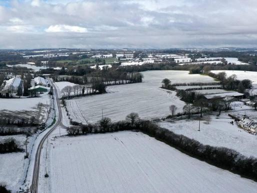 En Mayenne. De la neige attendue ce lundi, le département en vigilance jaune