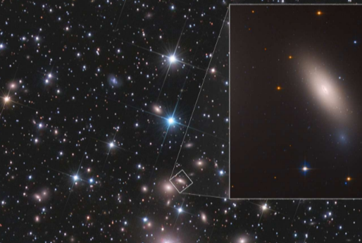 Hubble : une galaxie relique découverte près de chez nous