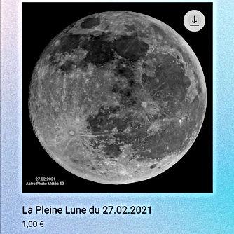 La Pleine lune du 27.02.2021