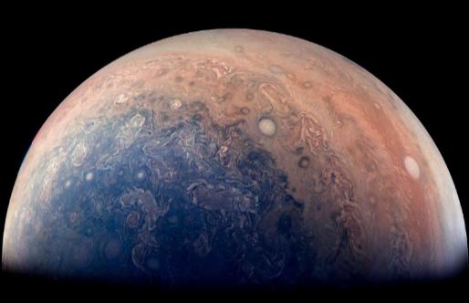 Jupiter : la sonde Juno livre de sublimes images et la clé d'une énigme