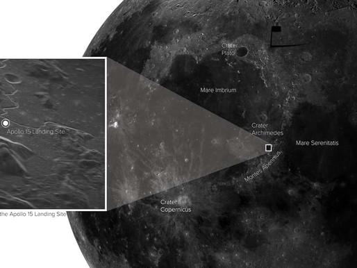 Une image stupéfiante de la Lune prise depuis la Terre
