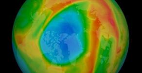 Un trou d'ozone record s'est récemment formé en Arctique
