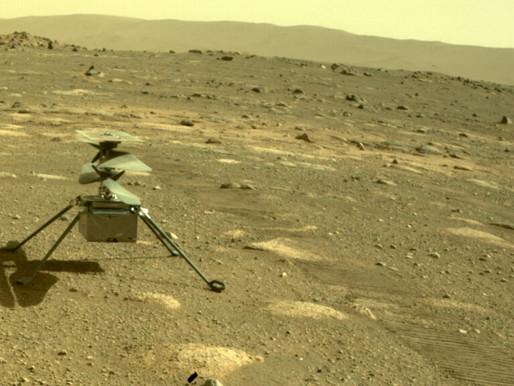 L'hélicoptère Ingenuity a survécu à sa première nuit sur Mars sans Perseverance