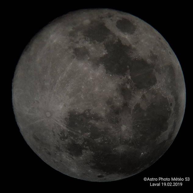 Super lune 19.02.2019 retouché