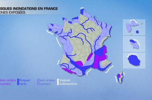 Le risque inondation en France : dossier