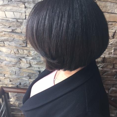bob hair cut by Larissa
