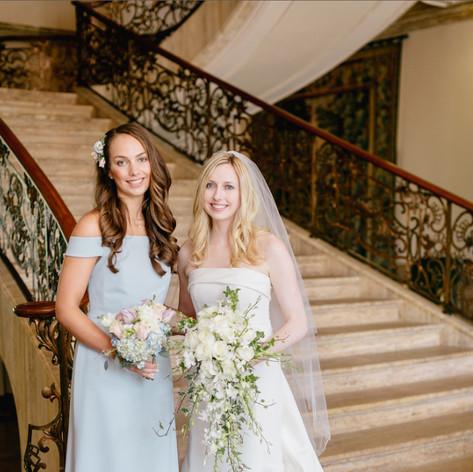 Bridal styling by Larissa
